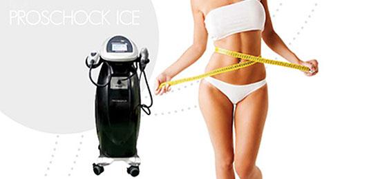Fett-weg Therapie durch Kälte